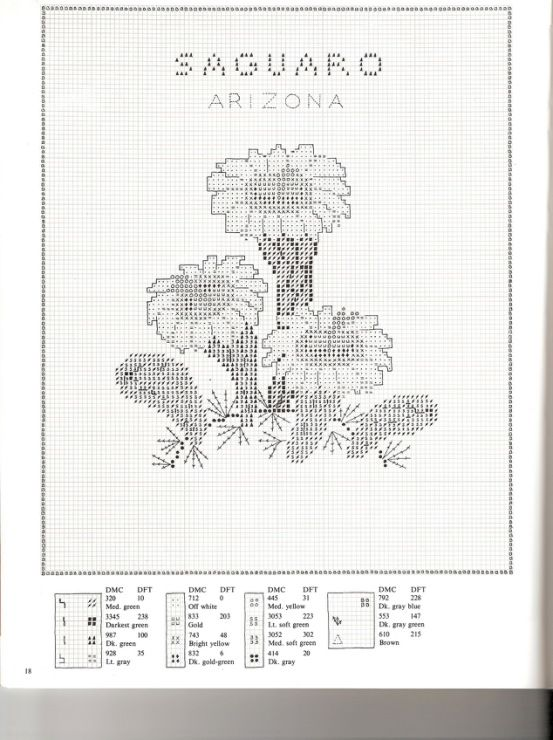 Gallery.ru / Фото #18 - U.S.State Flowers in Counted Cross-Stitch - Orlanda