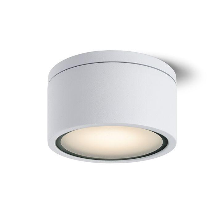 MERIDO - Stropné vonkajšie svietidlo pre úsporný svetelný zdroj GX53.