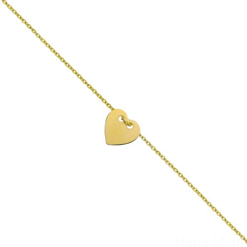 Kolekcja Zima 2015 - Little Love - Gold #nanamarie #nanamarie_com #bracelet #bransoletka #winter #fashion #collection #jewelry #jewellery #accessories #2015 #bijou #inspiration #little #love