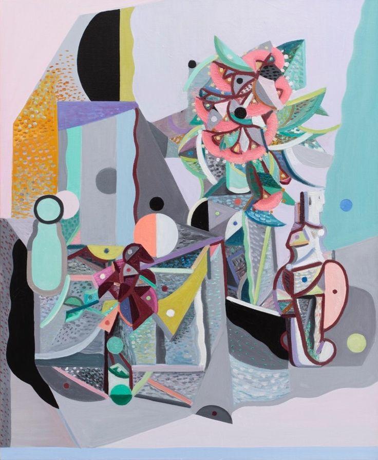 Yvette Coppersmith The Kouros of Melos (Sanne) oil on linen 102 x 84 cm 2015