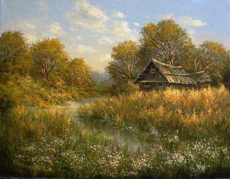 Надписями, открытки с сельскими пейзажами