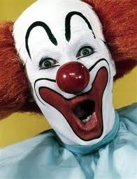 I seriously don't like clowns of any kind.  Freak me out since I was little!
