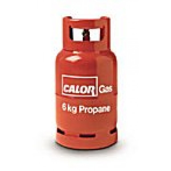 Calor Gas 6kg Propane Gas Refill.  price: £19.99 x2 = £39.98 + Rental Charge.  www.homesteadcaravans.co.uk