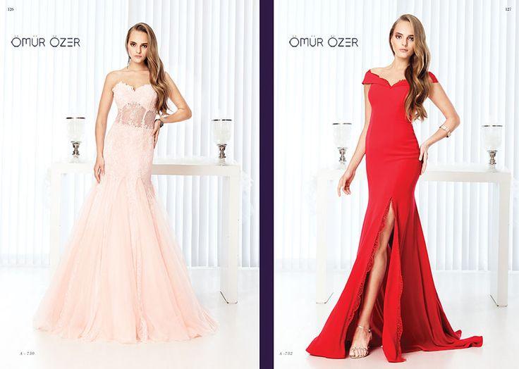 Evening dresses by Ömür Özer 2014