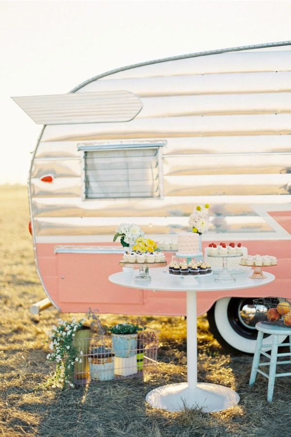 """Enjoy Cupcakes Shoot by Jose Villa...Wouldn't this be an awesome """"food truck"""" idea? http://www.tow-trucks-for-sale.com http://food-trucks-for-sale.com"""