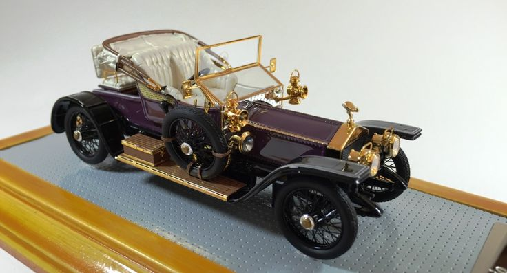 Ilario IL43095 1/43 Rolls Royce Siver Ghost 1910 Balloon Car sn1513 Current Car