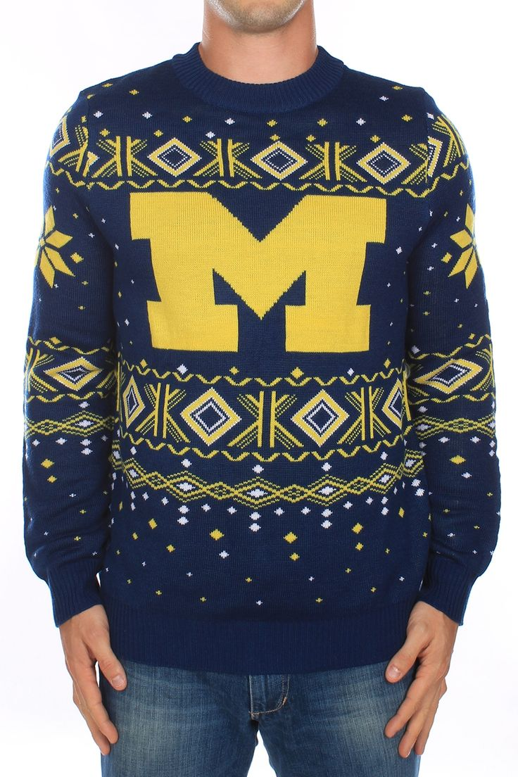 Men's University of Michigan Sweater. Feels as good as beating those Buckeyes. Go Blue!