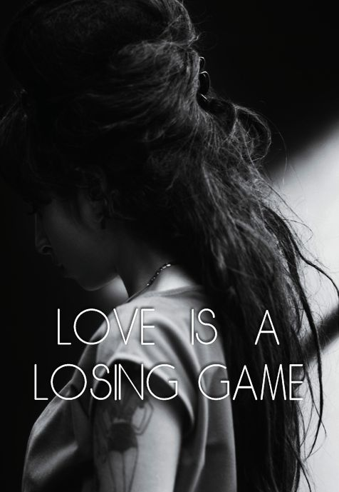 ale post • ❝…  LOVE IS A LOSING GAME …❞ More...