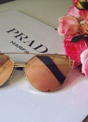 Kup mój przedmiot na #vintedpl http://www.vinted.pl/akcesoria/okulary-przeciwsloneczne/18695531-okulary-przeciwsloneczne-lustrzanki-rozowe-cat-eye-idealne-na-lato-hit