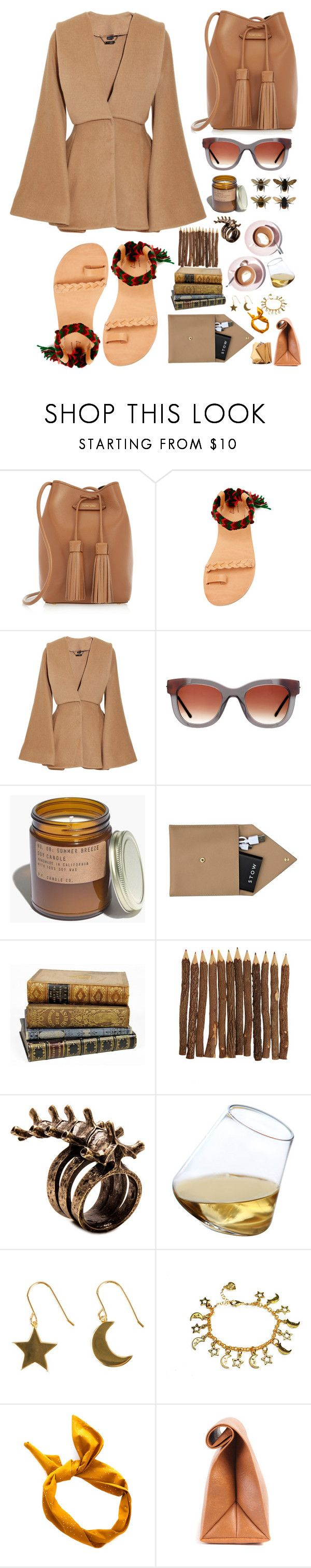 """Tanned"" by finding-0riginality ❤ liked on Polyvore featuring Tom Ford, Elina Lebessi, Alexander McQueen, Martha Stewart, Thierry Lasry, Madewell, STOW, None the Richer, Sempli and SOPHIE by SOPHIE"