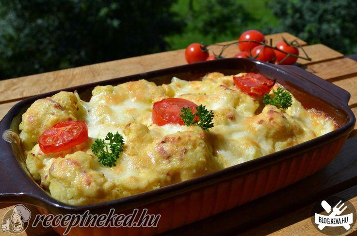 Mozzarellás karfiol