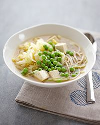 Soup with Tofu, Cabbage and Soba Noodles Recipe (Sub veggie broth ...