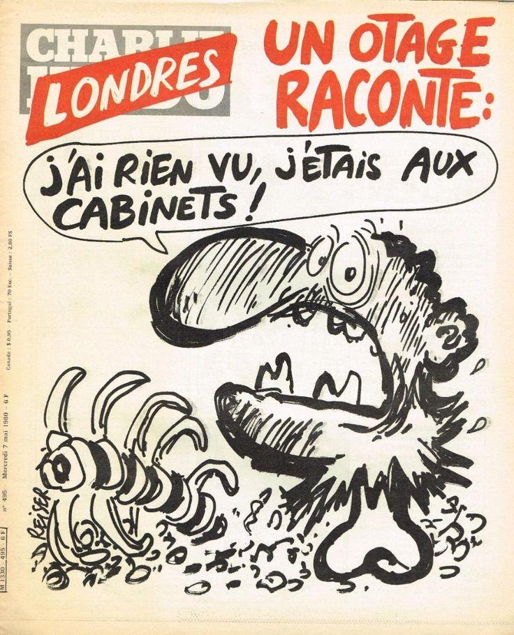Charlie Hebdo - # 495 - 7 Mai 1980 - Couverture : Reiser