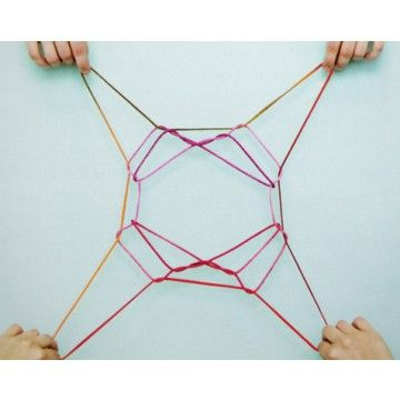 String Games - How to Make String Figures - Cats Cradle ...