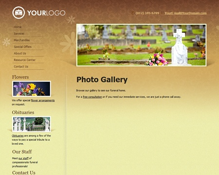 15 best Effective Website Designs for Funeral Homes images on ...