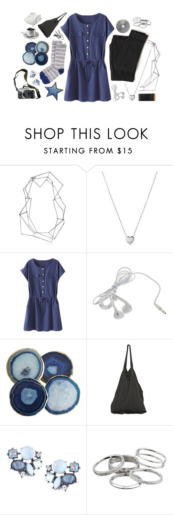 """where the moon is made of gold. {tag}"" by elle-of-roses ❤ liked on Polyvore featuring BANCI GIOIELLI, Links of London, Laneus, Eos, Lydell NYC, Kendra Scott, Sloane Stationery and ellefashion"