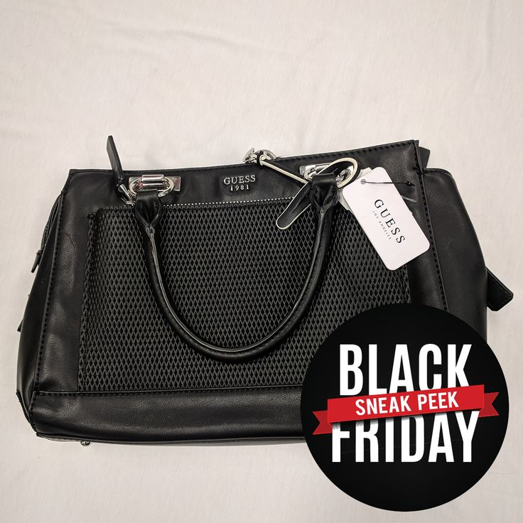 Can you believe this NWTs purse will be at our Black Friday event tomorrow? You have to get it! #soperfect #sneakpeek #PlatosClosetOshawa #purselover #gentlyused #santacameearlythisyear #seeyouthere #blackfriday2017sneakpeekpcoshawa // #CalvinKlein Purse, NWT, $50 // | www.platosclosetoshawa.com