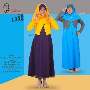 Baju Gamis Anak Rahnem GH 1339 - Promo Ramadhan Sale