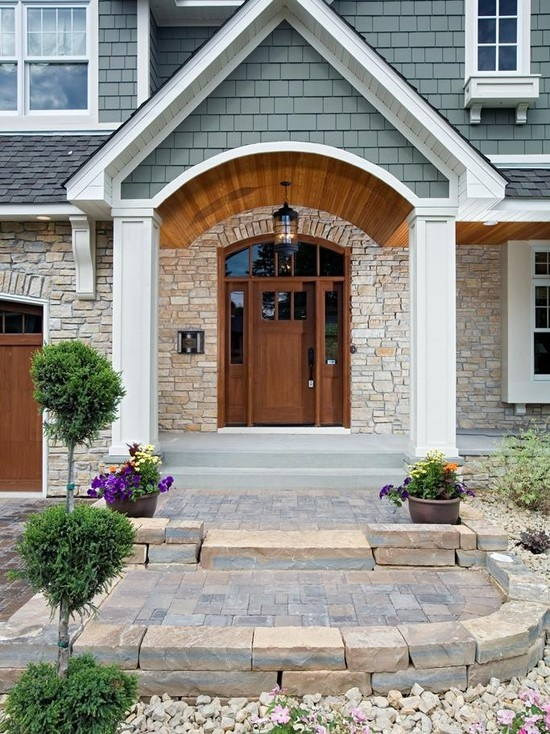 Front Porch Portico Design, Pictures, Remodel, Decor and Ideas - page 6