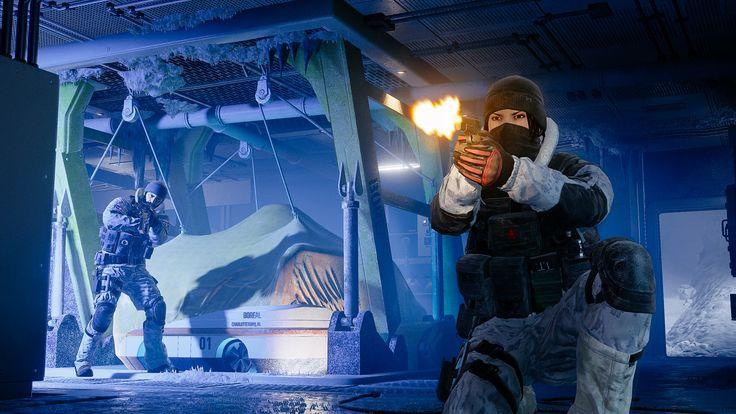 [Jeux Vidéo] Tom Clancy's Rainbow Six Siege - Opération Black Ice : http://www.zeroping.fr/actualite/jv/tom-clancys-rainbow-six-siege-operation-black-ice/