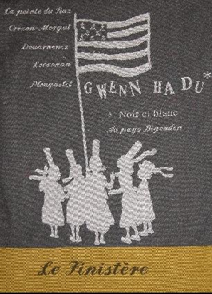 Bretagne tea towel