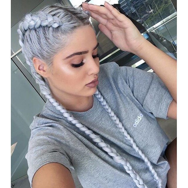 Trendy Hairstyles in Gray/Ashy Shades!