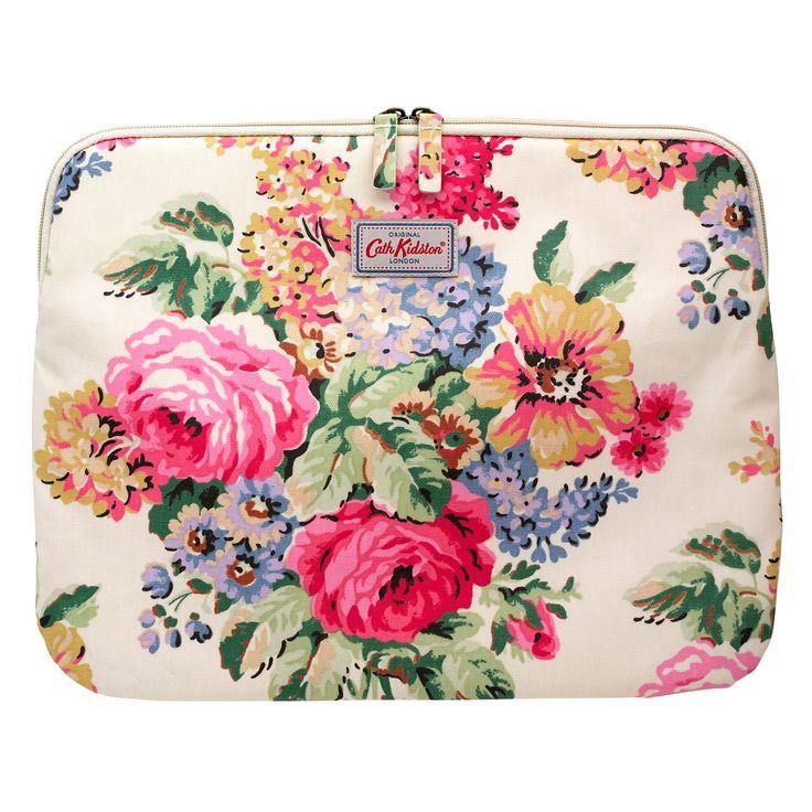 Bloomsbury Bouquet 13 inch Laptop Sleeve | Bloomsbury Bouquet | CathKidston