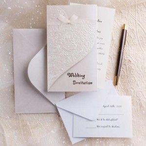 31 best ribbon wedding invitations images on Pinterest Casamento