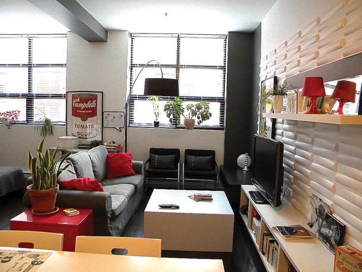 Modern open concept loft ... by Yuyu & Gigi Design