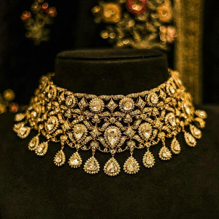 'The Gauhar Jaan Choker' by Kishandas for Sabyasachi