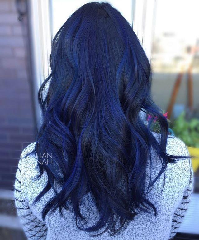 best 25 dark blue hair ideas on pinterest