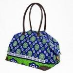 Large Kanga Bag In Blue Green