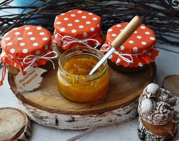 Джем из Манго с Цитрусами, Имбирем, Перцем Чили и специями. Mango jam with oranges, lemons, chili, fresh ginger and spices.