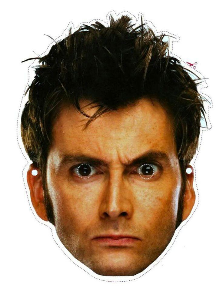 40 best doctor who images on Pinterest Doctor who printable - free printable face masks