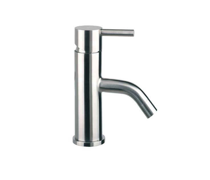 Just Taps Plus Inox Stainless Steel Mini Bathroom Basin Tap