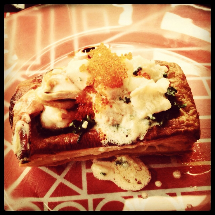 delicious entre at Madeline Bistro