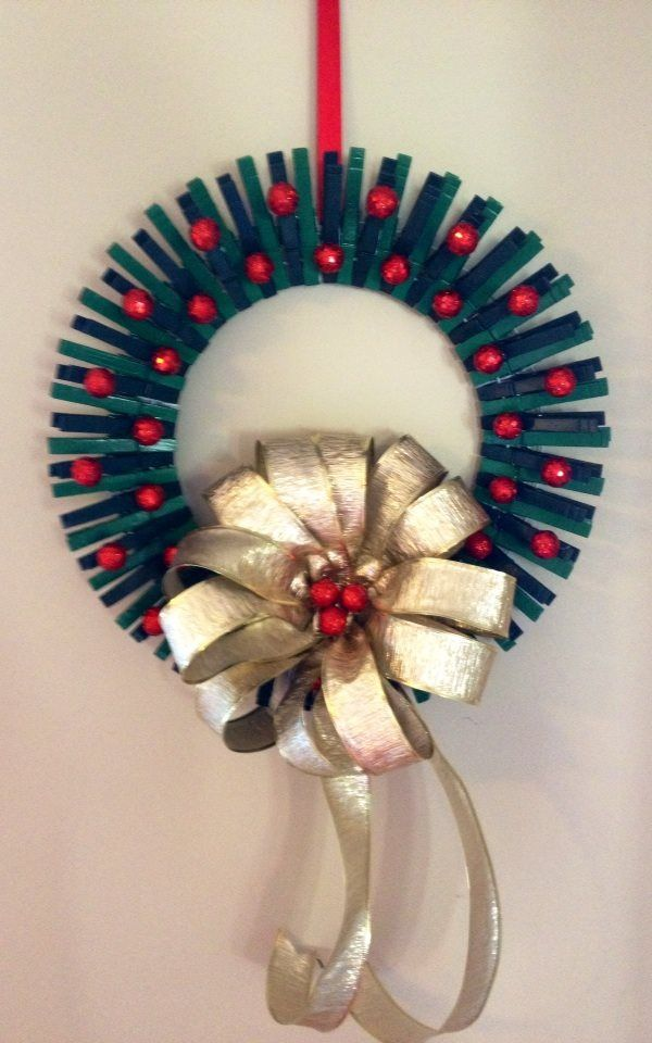 After falling in love with my 4th of July Clothespin Wreath, I really wanted to do a Christmas one for the holidays. This one was so much fun to make and I'm so happy with how it turned out! Since ...