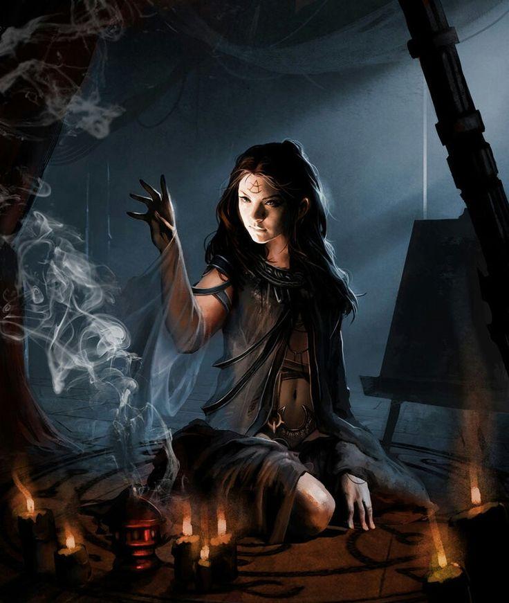 Initation Ritual. By: http://trishkell.deviantart.com/