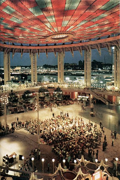 AD Classics: New York State Pavillion / Philip Johnson