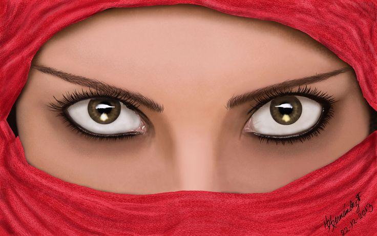 Diseño de mujer Arabe 2013 por FREDDY HERNANDEZ Photoshop Creative Cloud