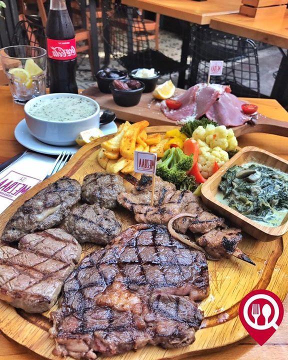 """Mezbaa İftar Menüsü - Mezbaa Steak & Burger / İstanbul ( Karaköy )  Çalışma Saatleri 11:30 - 00:00  0 212 243 61 51  80/ Kişi Başı  Alkollü Mekan  Paket Servis Yok  Sodexo Var  Açık Alan Var  Vale Parking Yok DAHA FAZLASI İÇİN YOUTUBE """"YEMEK NEREDE YENİR"""" ABONE OL  İftar Menüsü: Çorba Füme Et Turşu Patates Kızartması Mezbaa Köfte Kaşarlı Köfte Çöp Şaşlık Dilim Bonfile Dilim Antrikot İçecek"""