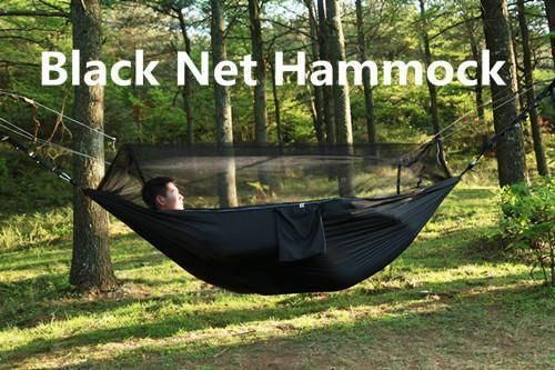 Have A Mosquito Free Camping Experience With This Portable Camping Hammock With Mosquito Net No Matter Where Yo Double Camping Hammock Hammock Outdoor Hammock