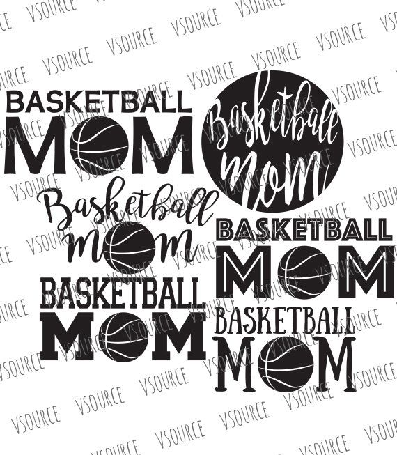 Basketball Mom SVG - Basketball Mom Clipart - Basketball Mom SVG Bundle - Basketball Mom Cut File Bundle - DXF, Png, Eps, Ai by VSource on Etsy https://www.etsy.com/listing/482887030/basketball-mom-svg-basketball-mom