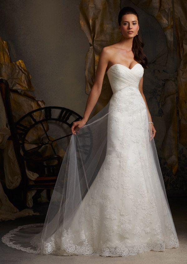 9 best Vestidos novia Mori Lee images on Pinterest | Bridal gowns ...