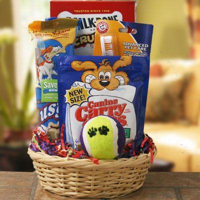 Making Homemade Dog Treats Gift Basket