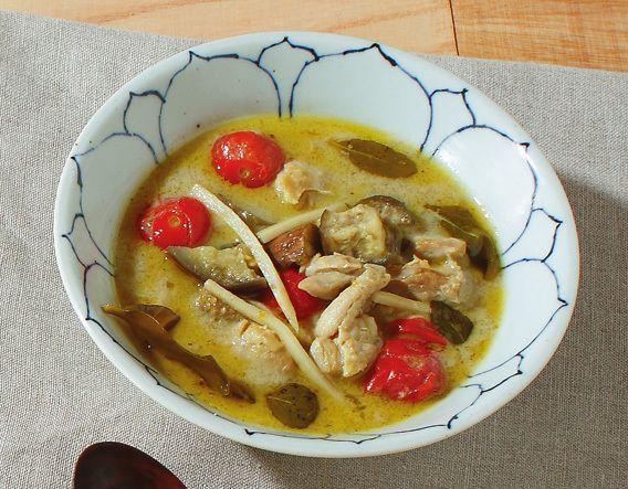 タイ風グリーンカレー Soup Stock Tokyoの心と身体に効くスープの作り方 Soup Stock Tokyoのスープの作り方2 CREA WEB(クレア ウェブ)