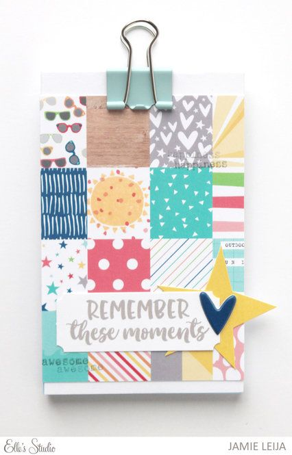 Jamie Leija Neon Birthday Card: 490 Best Images About Mini Albums And Journals On