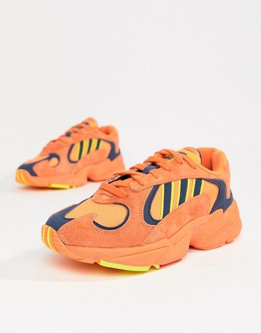 newest collection 49352 0a806 adidas Originals   adidas Originals Yung-1 Trainers In Orange