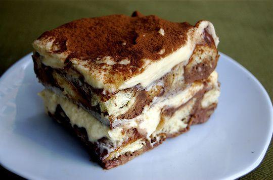 Tiramisu Bread Pudding   The Kitchn