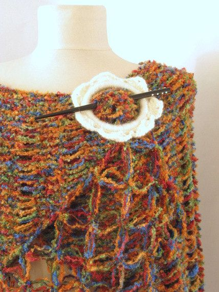 Multicolor Capelet Oversized FREE  Worldwide by asuhan on Etsy, $70.00Sellers, Asuhan Handmade, Hair Simply, Free Worldwide, Handmade Bazaars, Multicolored Capelet, Crochet Shawl, Capelet Oversized, Oversized Free